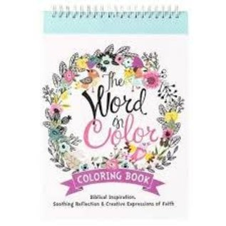 Coloring Book - The Word in Color, Wirebound