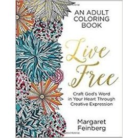 Coloring Book - Live Free