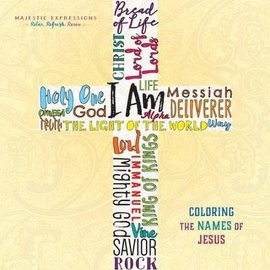Coloring Book - I AM: Names of Jesus