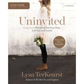 Uninvited, Study Guide (Lysa TerKeurst), Paperback