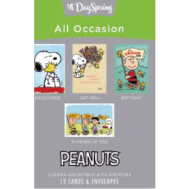 Boxed Cards - All Occasion, Peanuts