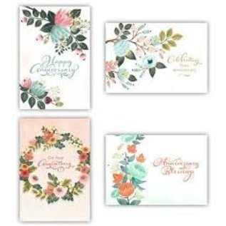 Boxed Cards - Anniversary, Flowers