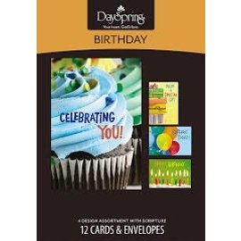 Boxed Cards - Birthday, Bright