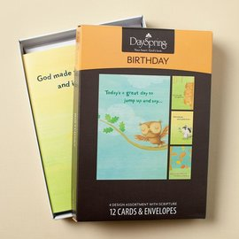Boxed Cards - Birthday, Happy Critters