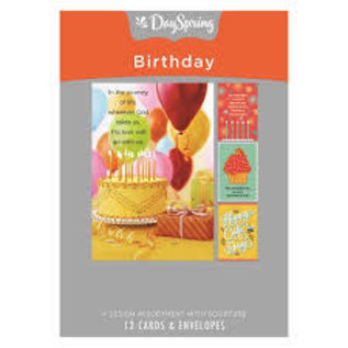 Boxed Cards - Birthday, Images