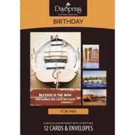 Boxed Cards - Birthday, Nautical
