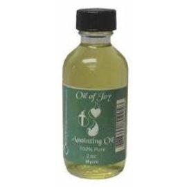 Anointing Oil - Frankincense & Myrrh, 2 oz