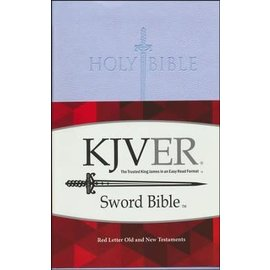 KJVer Sword Thinline Bible, Lavender Ultrasoft