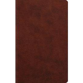 ESV Large Print Bible, Chestnut TruTone