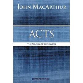 MacArthur Bible Studies: Acts (John MacArthur), Paperback