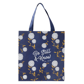 Tote - Be Still and Know, Flowers