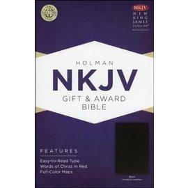 NKJV Gift & Award Bible, Black Imitation Leather