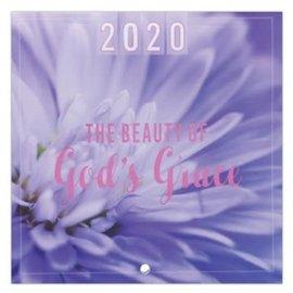 2020 Wall Calendar - The Beauty of God's Grace, Small