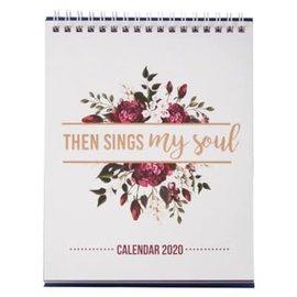 2020 Desktop Calendar - Then Sings My Soul