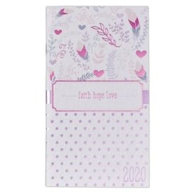 2020 Daily Pocket Planner - Faith Hope Love
