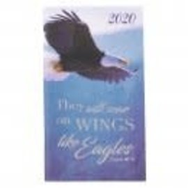 2020 Daily Pocket Planner - Wings Like Eagles