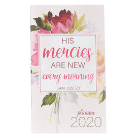 2020 Daily Pocket Planner - His Mercies