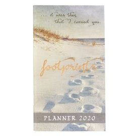 2020 Daily Pocket Planner - Footprints