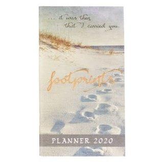 2020 Daily Pocket Planner - Footprints