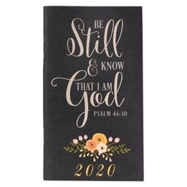 2020 Daily Pocket Planner - Be Still & Know