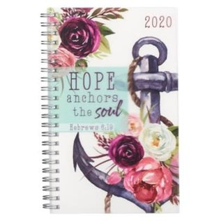 2020 Daily Planner - Hope Anchors the Soul