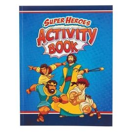 Activity Book - Super Heroes