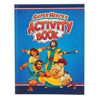 Activity Book - Super Heroes