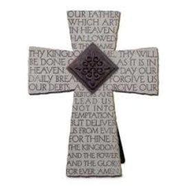 Cross - The Lord's Prayer, Tabletop
