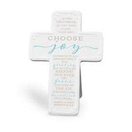 Tabletop Cross - Choose Joy