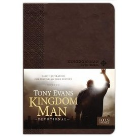 Kingdom Man Devotional (Tony Evans), Imitation Leather