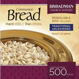 Communion Bread: 500 Hard