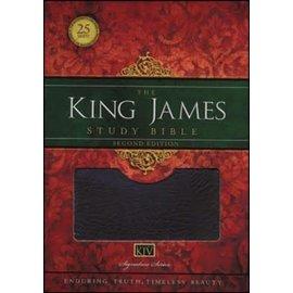 KJV King James Study Bible, Burgundy Bonded Leather