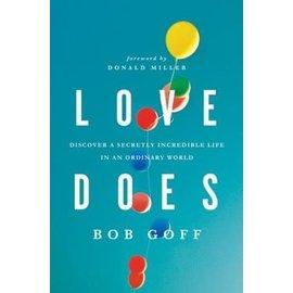 Love Does (Bob Goff), Paperback