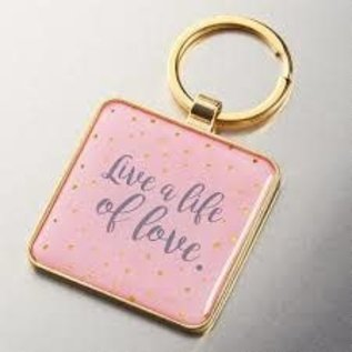 Keychain - Live a Life of Love