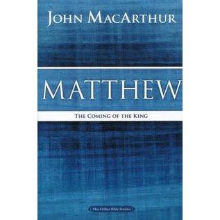 MacArthur Bible Studies: Matthew (John MacArthur), Paperback