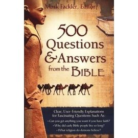 500 Questions & Answers from the Bible, Paperback