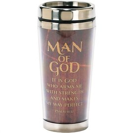Travel Mug - Man of God 2