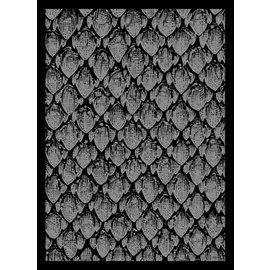 Card Sleeves - Dragonhide Silver