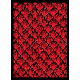 Card Sleeves - Dragonhide Red