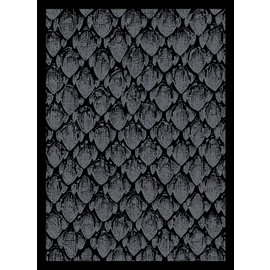 Card Sleeves - Dragonhide Black