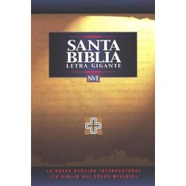 NVI Santa Biblia Letra Gigante, Black Imitation Leather (Spanish)
