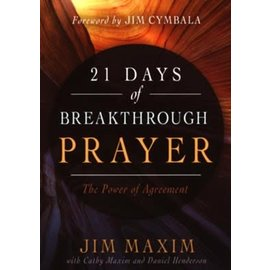 21 Days of Breakthrough Prayer (Jim Maxim), Paperback