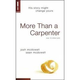 More Than a Carpenter (Josh McDowell, Sean McDowell), Paperback