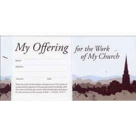 Offering Envelopes - My Offering for the Work of My Church, 52