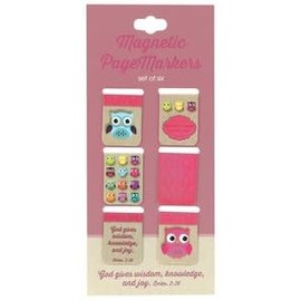 Magnetic Bookmarks - Owls, Small