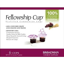 Fellowship Cup, Prefilled 6
