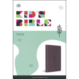 ESV Kid's Thinline Bible, Gray TruTone