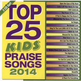 CD - Top 25 Kids Praise Songs 2014