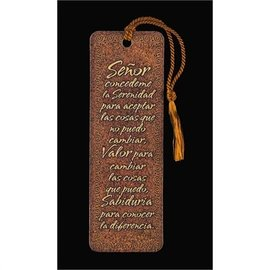 Bookmark - Serenity Prayer (Spanish)