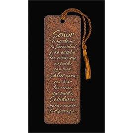 Bookmark - Serenity Prayer (Spanish)